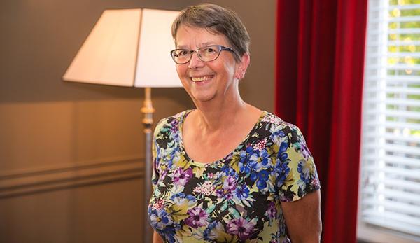 Portretfoto (kleur) Maria van Vugt-van Pinxteren