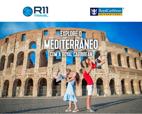 Explore o Mediterrâneo com a RoyalCaribbean em 2021