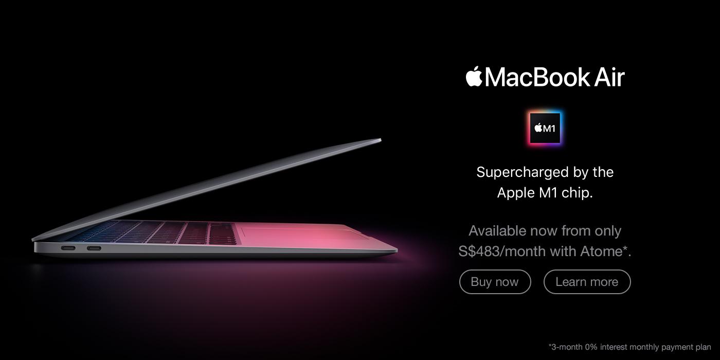 MacBook Air M1 Desktop