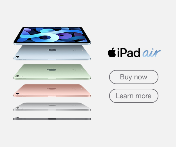 iPad Air Web Banner Mobile