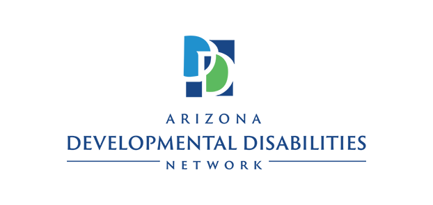 Logo for the Arizona Developmental Disabilities Network