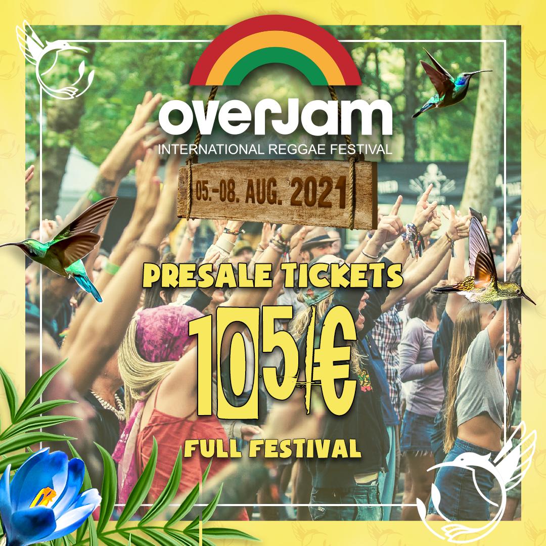 OverJam International Reggae Festival 2021 2021