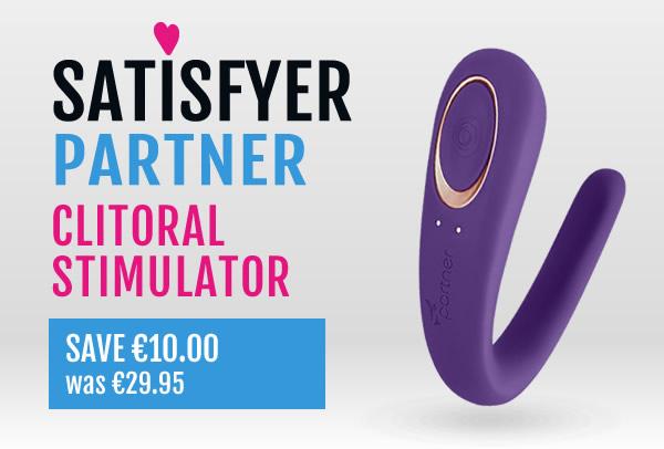 SATISFYER PARTNER Clitorial Stimulator - Save SAVE €10.00
