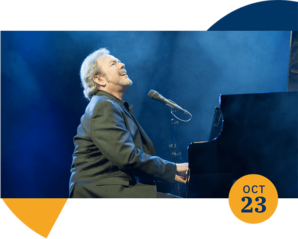 Jimmy Webb singing and playing the piano