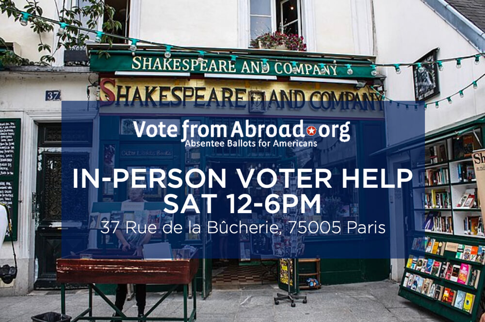 Vote From Abroad Voter Help