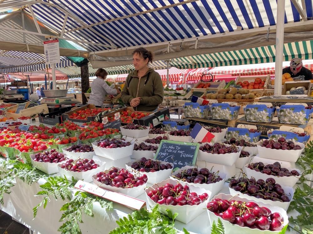 Produce Market in Nice, France