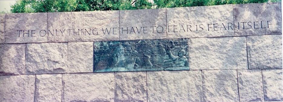 Franklin D. Roosevelt Memorial in Washington, DC