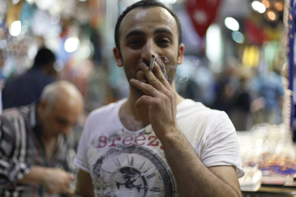 Smoking in France Popular as Ever