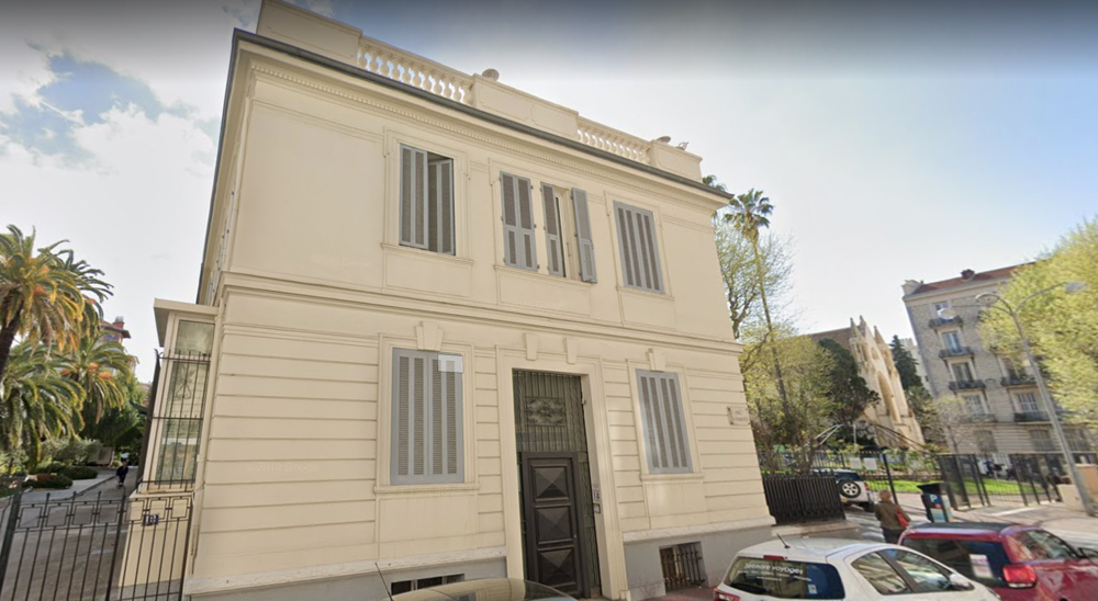 The Chambre de Notaires in Nice on rue du Congrès