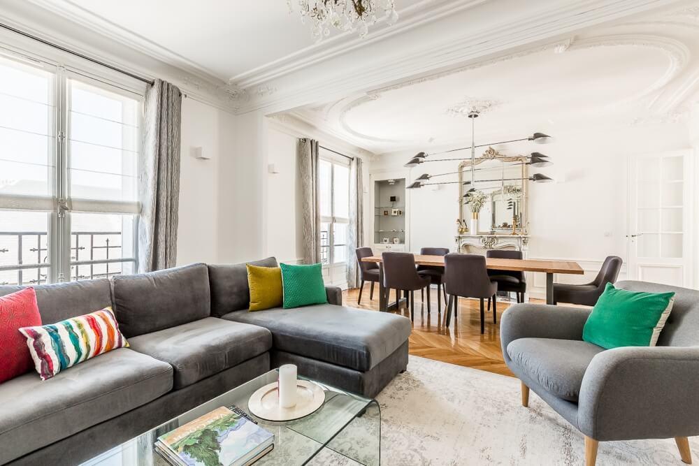 Long-term Apartment Rental Le Balcon Royal du Marais