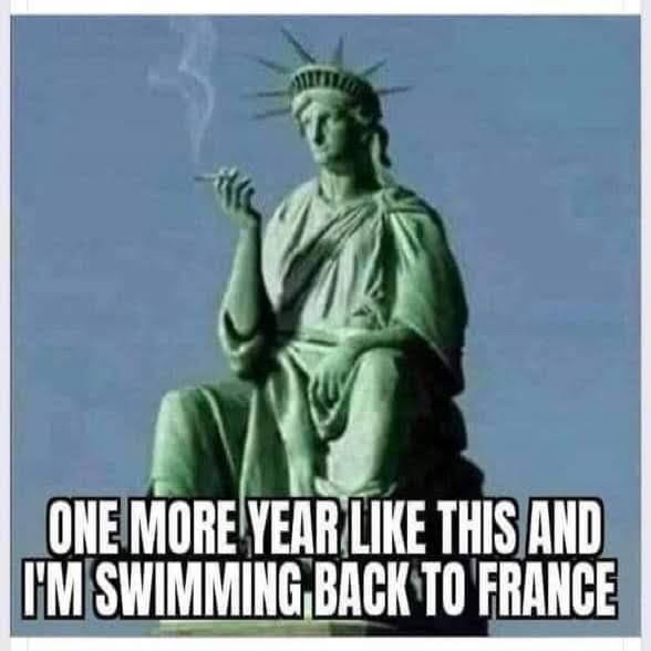 Swimming Back to France