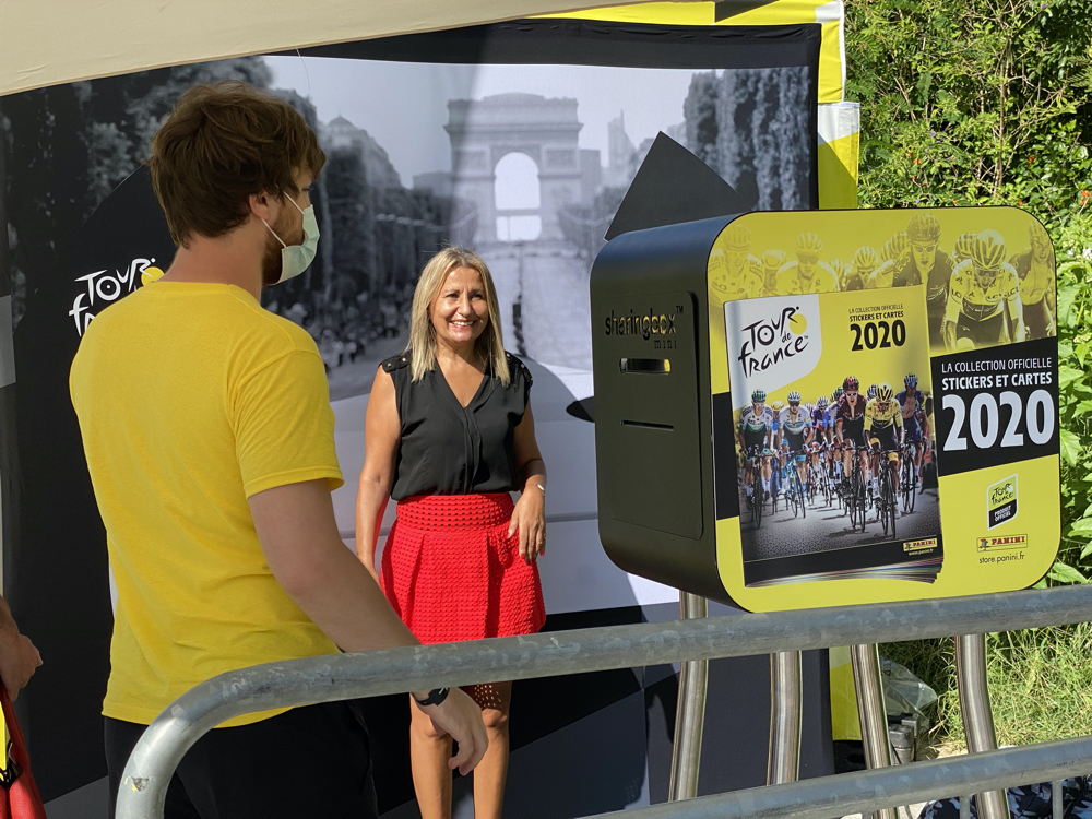 Souvenir Photo Booth at the Fan Park - Nice, France