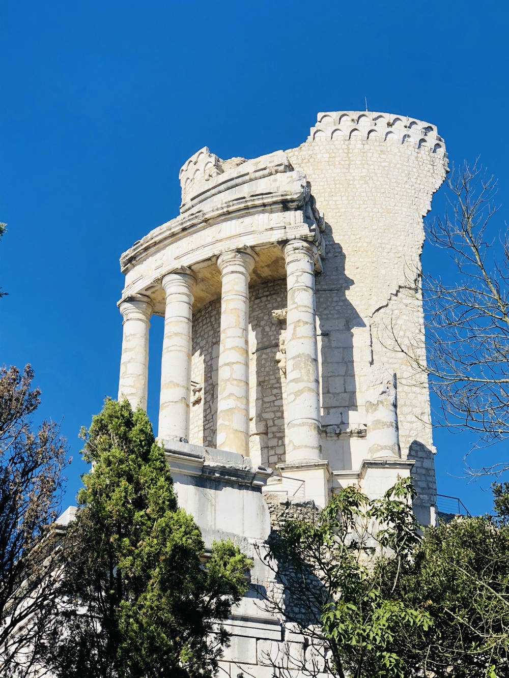 Ruins in La Turbie