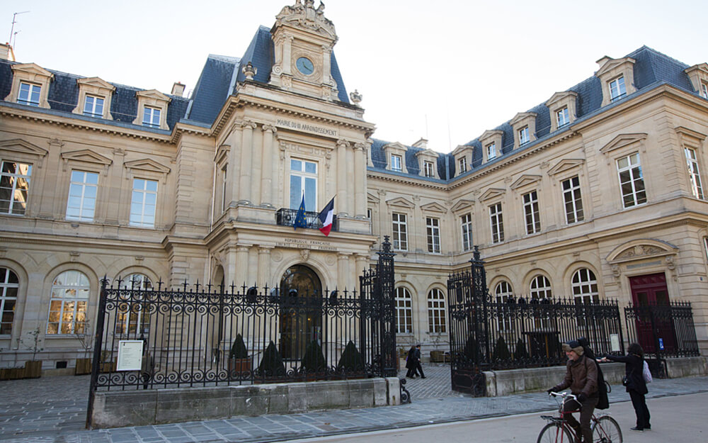 Mairie of Paris Centre, Previously the Mairie of the 3rd Arrondissement