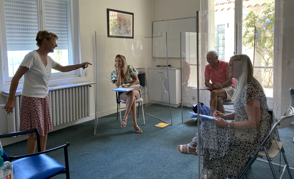 Upadted Classroom at the Institut de Français
