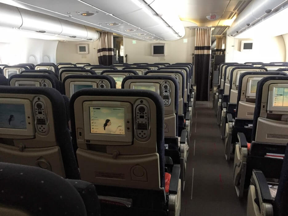 Aboard and Air France Airbus