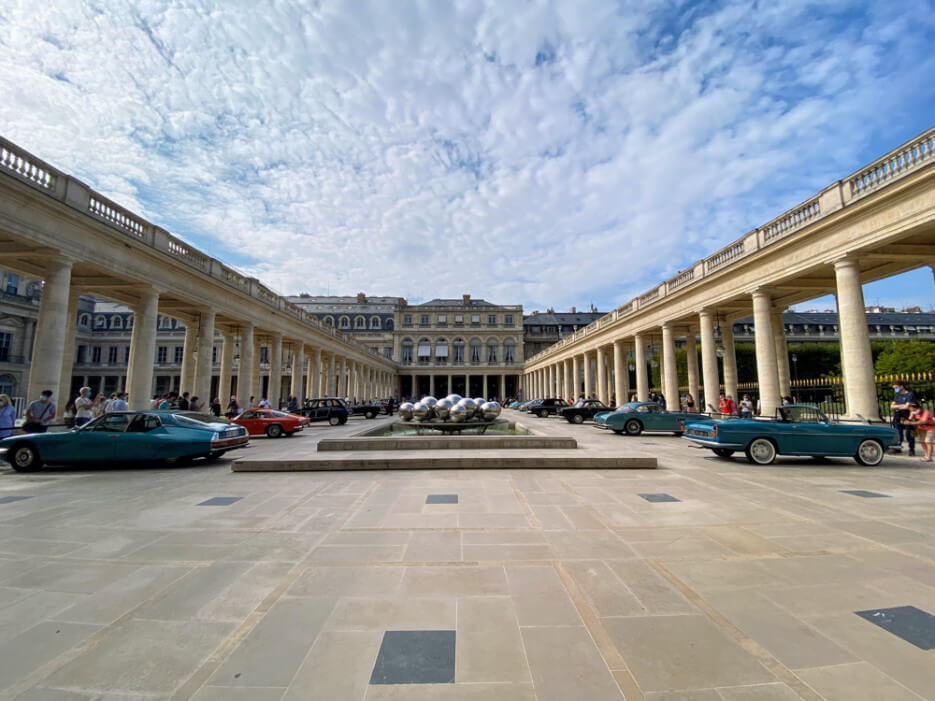 Antique Car Show in the Palais Royal