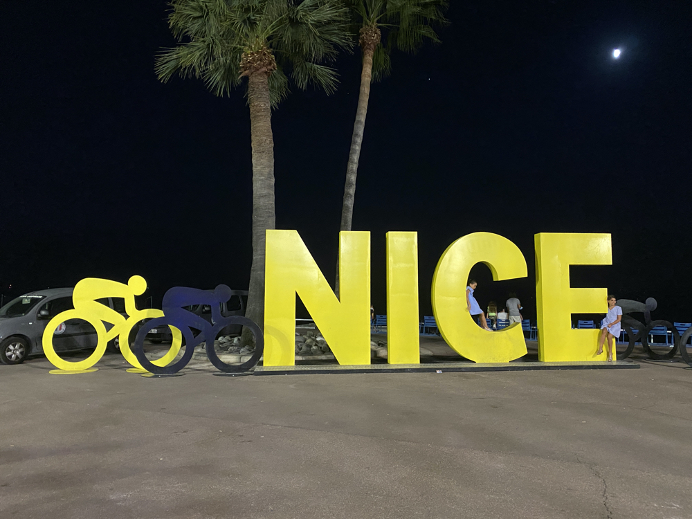 The Tour de France in Nice