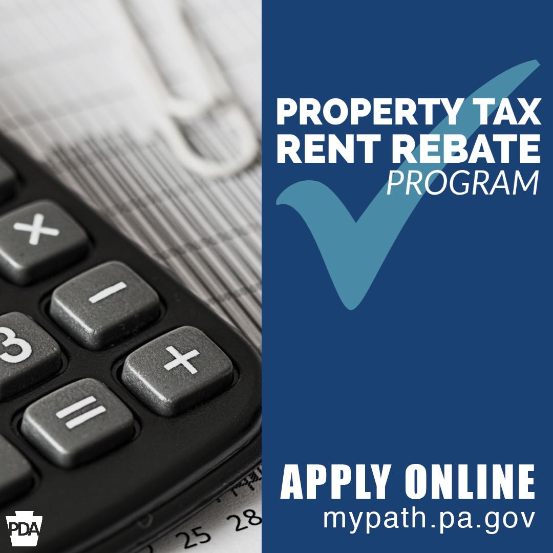 Property Tax Rent Rebate - Apply online at mypath.pa.gov