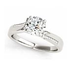 engagement ring platinum