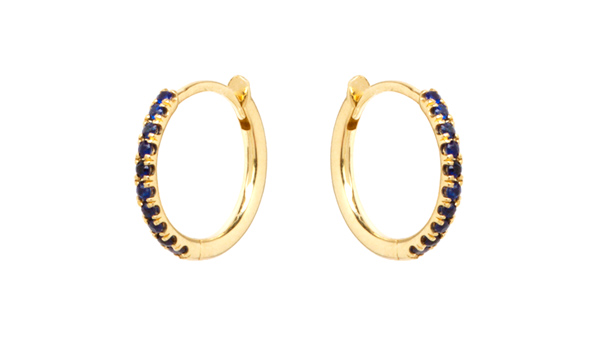 Sapphires Earrings