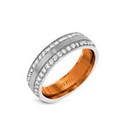 Encrusted with diamonds wedding band