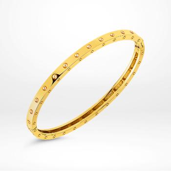 Gold bangle