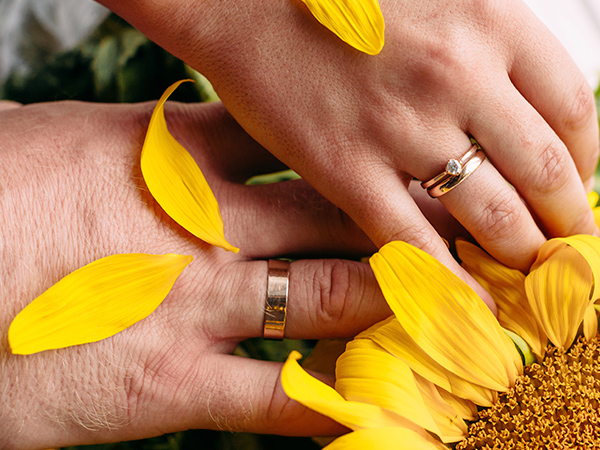 Wedding Band and Engagement Complement