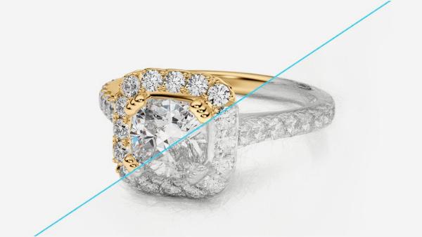 3D jewel model