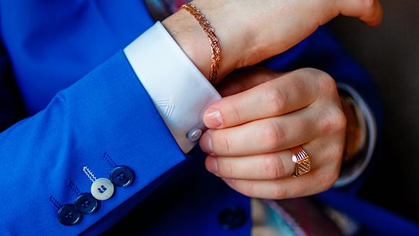 Man fashion ring