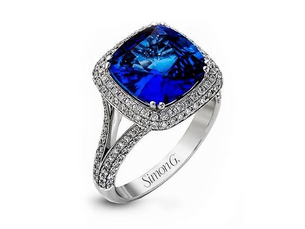 Fashion gemstone ring
