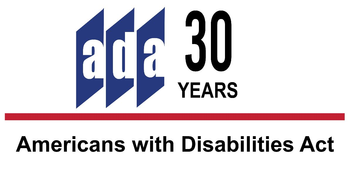 ADA National Network ADA 30th Anniversary logo