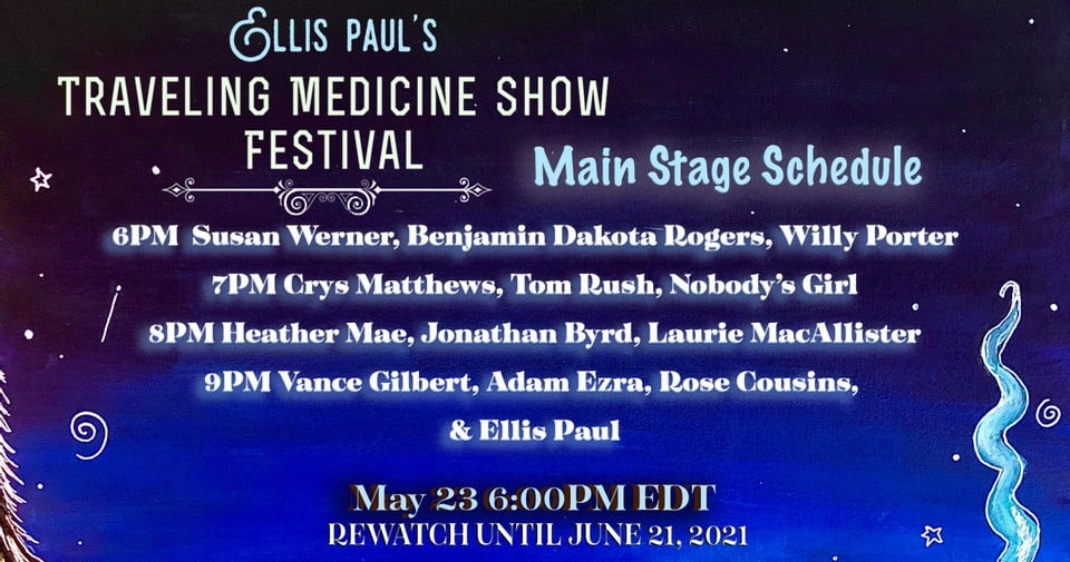 Ellis Paul Virtual Festival