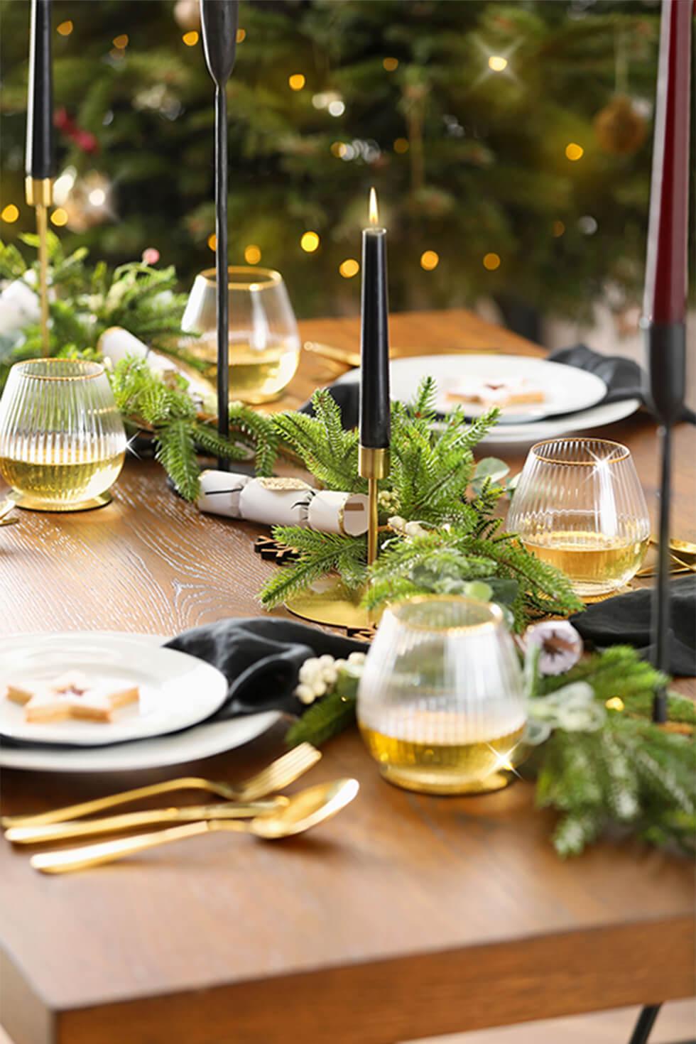 Franklin Industrial Oak Dining Table