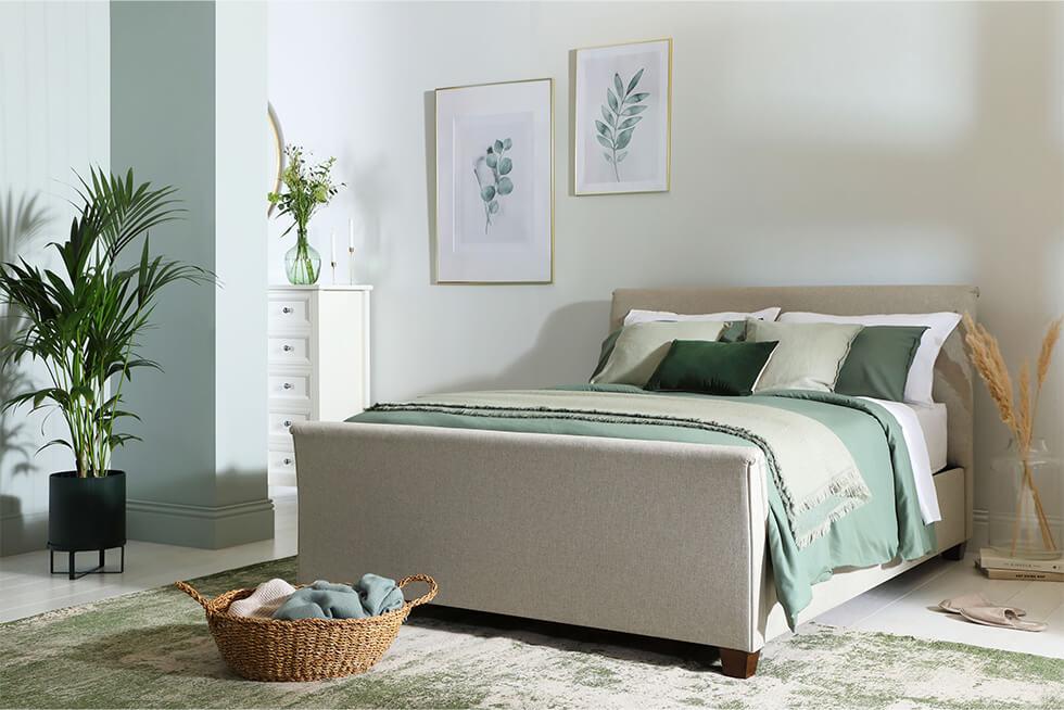 Fairmont Oatmeal Bed