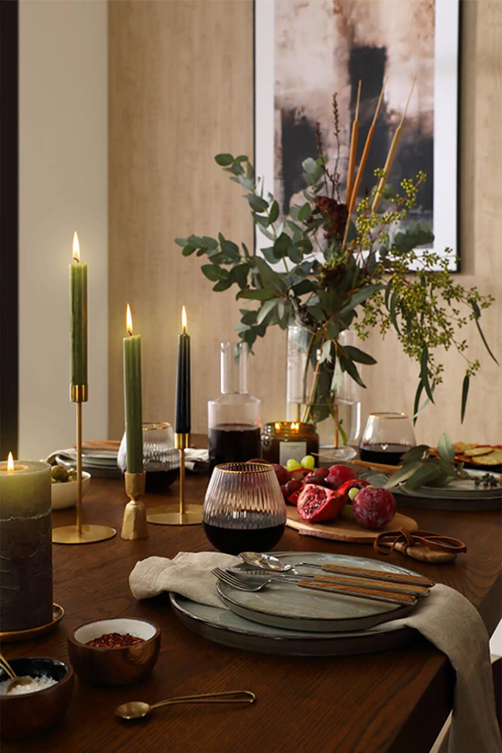Cavendish Dark Wood 160-200cm Extending Dining Table