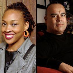 Rutgers Newark Naomi Jackson and Rigoberto González