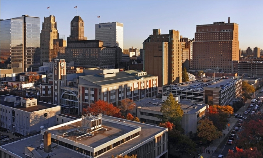 Rutgers Newark Skyline Photo