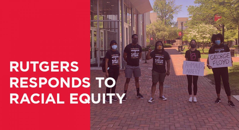 2020 Rutgers Newark Racial Equity header