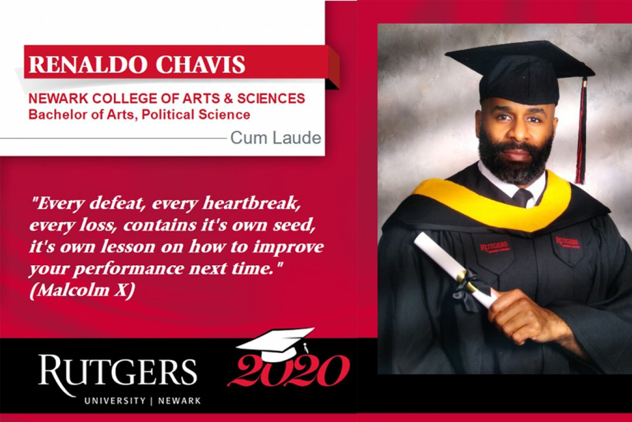 Renaldo Chavis RUN Class of 2020