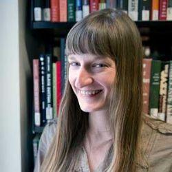 Rutgers Newark IJS Archivist Elizabeth Surles