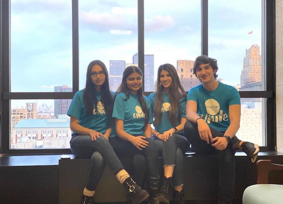 Rutgers Newark UNICEF Club Photo
