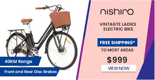 Vintage Ladies Electric Bike