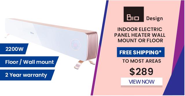 Indoor Electric Panel Heater Wall Mount or Floor