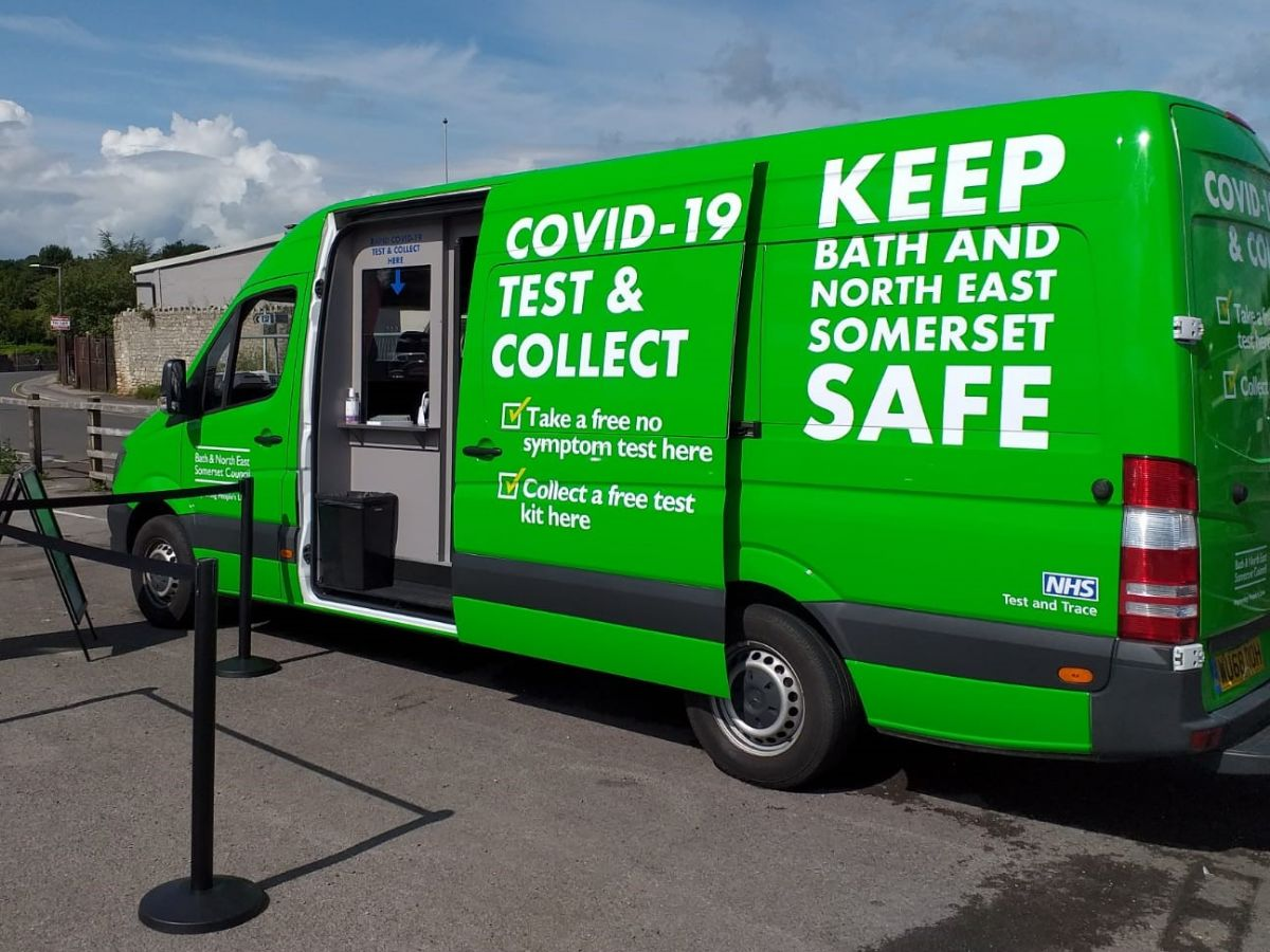 Test and collect van