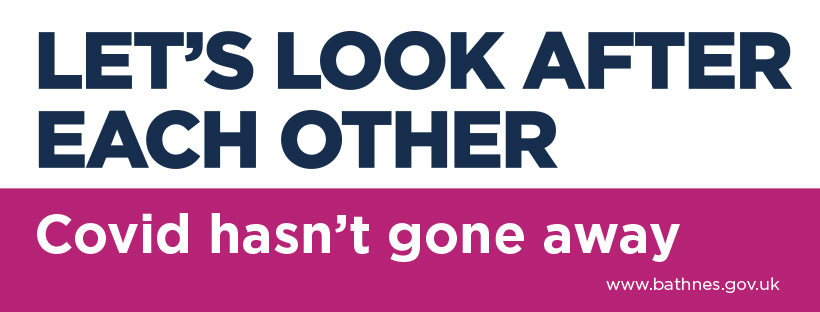 Let's look after each other. Covid hasn't gone away.