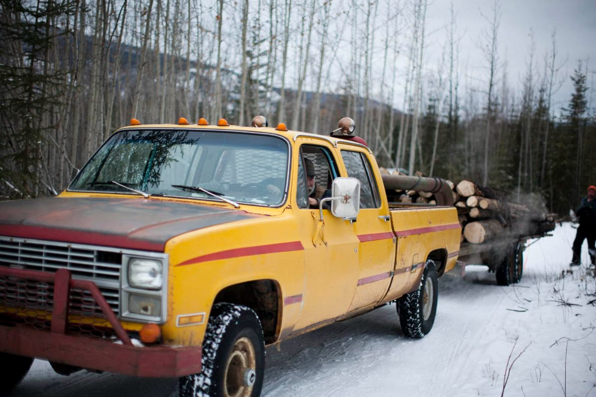 Firewood delivered in Yukon
