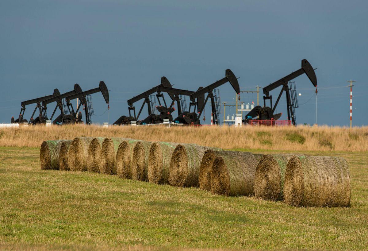 B.C. oil field