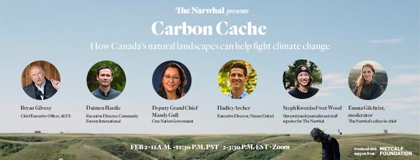 Webinar invite Carbon Cache