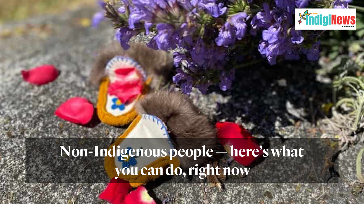 IndigiNews: Non-Indigenous people — here's what you can do, right now